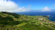Coastline of Ponta Delgada das Flores - Azores video