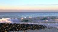 Coastline panning left spellbind video