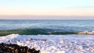 Coastline panning right spellbind video
