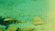Coast,sea, wild beach in Montenegro video