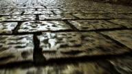 Cobbled pavement video