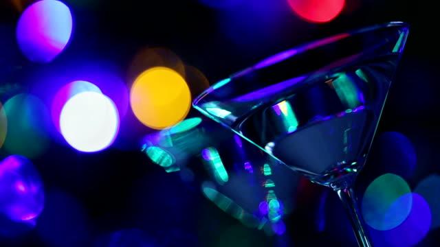 cocktail in nightclub video
