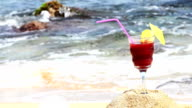 Cocktail on Beach video