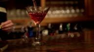 Cocktail Pour video