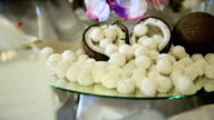 Coconut and coconut candies video