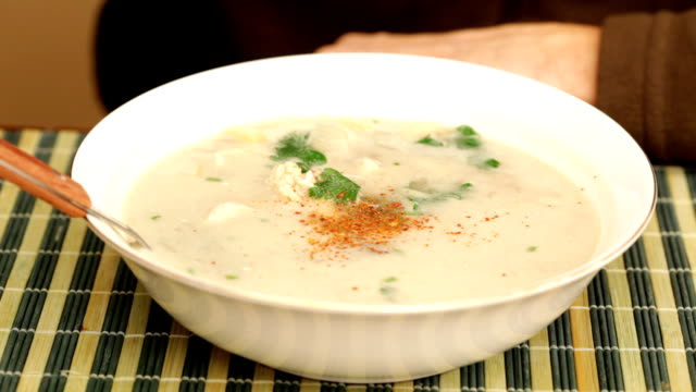 Coconut chicken soup video
