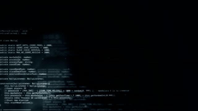 Coding  - Dark Net - Loop video