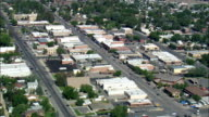 Cody  - Aerial View - Wyoming,  Park County,  United States video
