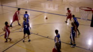 Co-ed High School Basketball Players video