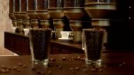 Coffe grains video