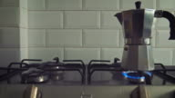 Coffe on stove video