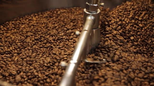 Coffee Bean Stir video