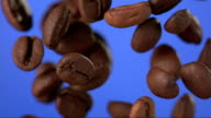 Coffee Beans Falling (Super Slow Motion) video