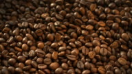 Coffee Beans Flying at Slow Motion 1500fps video