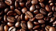Coffee Beans On Turntable - 2 Video Clips (Full HD) video
