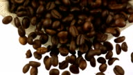Coffee beans, Slow Motion video