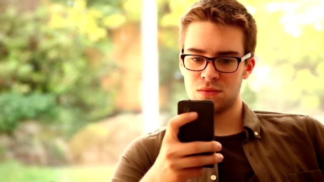 Coffee break, surfing the net. video