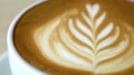 Coffee Latte Art video