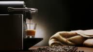 Coffee Machine for Italian Espresso -HD cinemagraph video