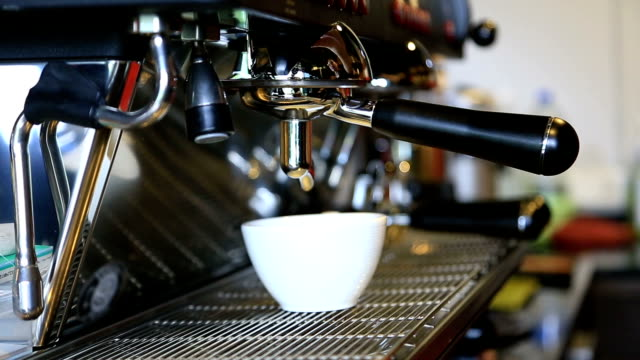 Coffee machines video