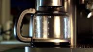 Coffee making timelapse video