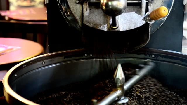 Coffee roaster machine video