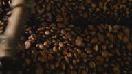 coffee roasting detail video