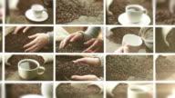 Coffee. Video Wall. video