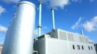 Cogeneration plant - time lapse video