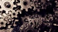Cogwheels (3 colors, loop) video