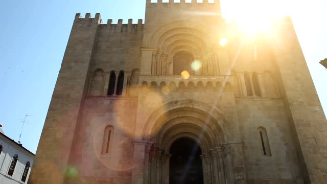 Coimbra old Cathedral video