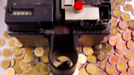 Coin counting machine working video