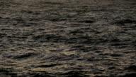HD cold dark ocean water video