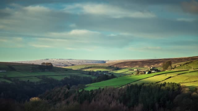 Cold Day in West Yorkshire - Time Lapse video