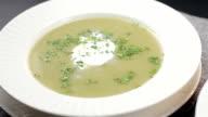 Cold soup video