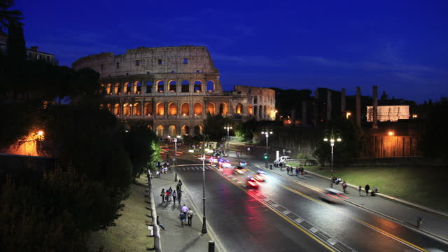 Coliseum Time lapse HD video