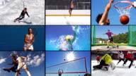 MONTAGE HD: Collage de beau Sport Action - Vidéo