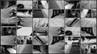 Collage - Printing of newspapers video