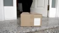 collecting cardboard box video