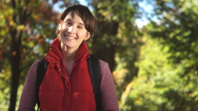 HD CRANE: College girl flirting video