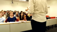 DOLLY HD - College Lecturer teaching University students video