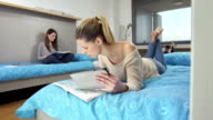 LS DS College Students In The Dormitory video