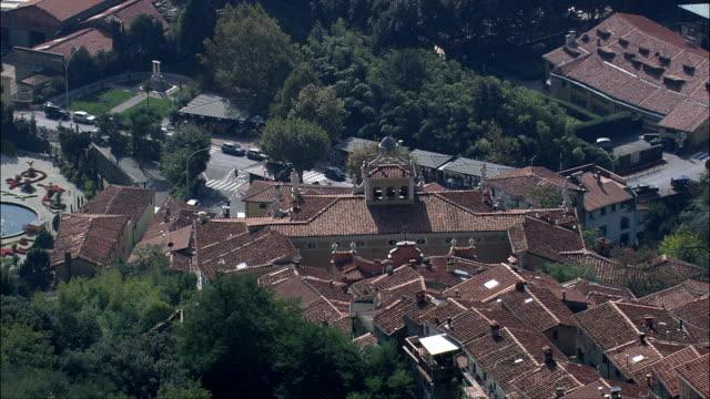 Collodi  - Aerial View - Tuscany, Provincia di Lucca, Capannori, Italy video