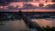 TIME LAPSE: Cologne at Dawn video