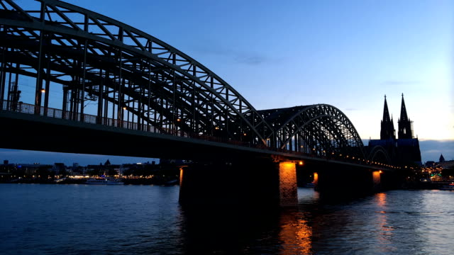 Cologne main station in Germany video