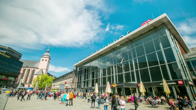 Cologne main station video