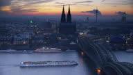 Cologne Skyline video