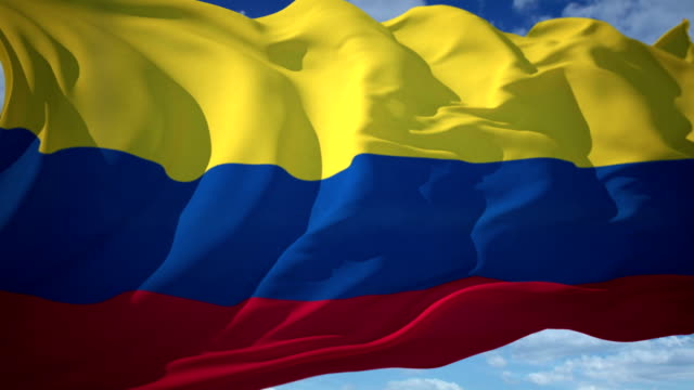 Colombia Flag video