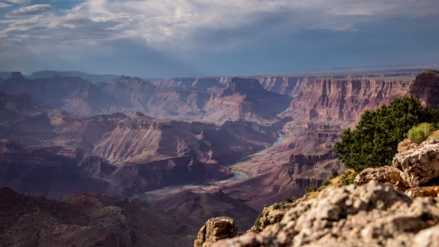 Color and Shadow at the Grand Canyon - Time Lapse video