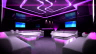 color led of Cyber Club Room video